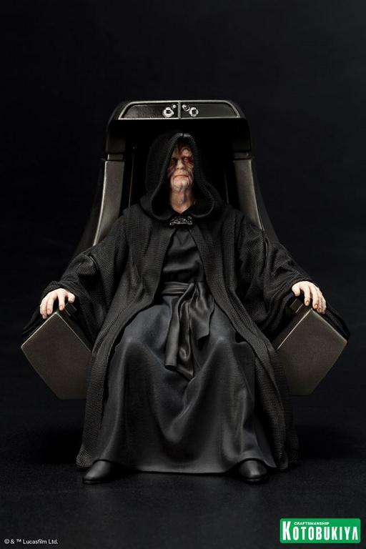 Kotobukiya - Star Wars Emperor Palpatine ARTFX+ statue Empero12