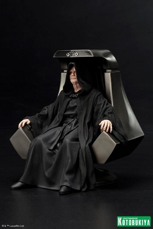 Kotobukiya - Star Wars Emperor Palpatine ARTFX+ statue Empero13