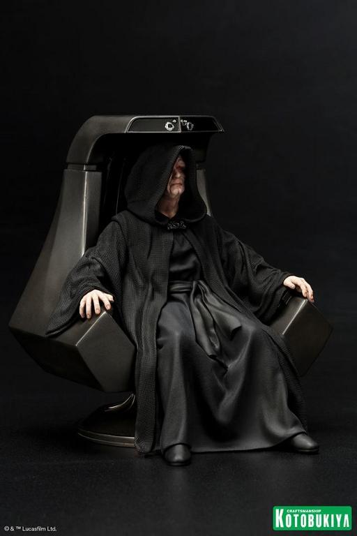 Kotobukiya - Star Wars Emperor Palpatine ARTFX+ statue Empero14