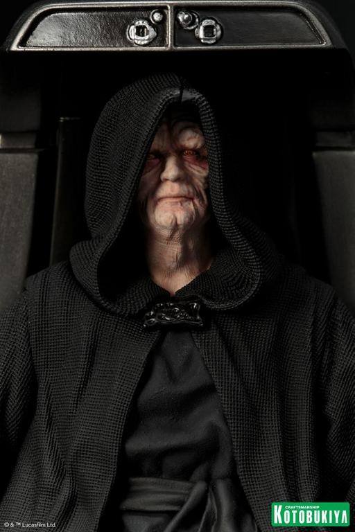 Kotobukiya - Star Wars Emperor Palpatine ARTFX+ statue Empero16