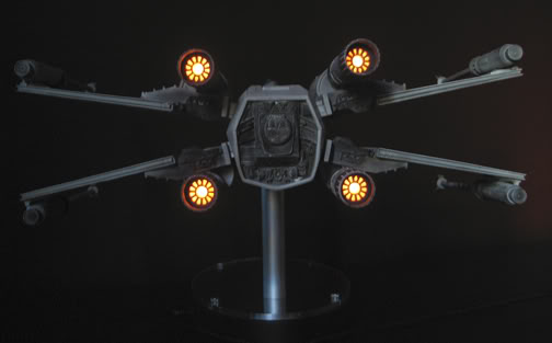 Efx -  luke skywalker red 5 X-wing Engine10