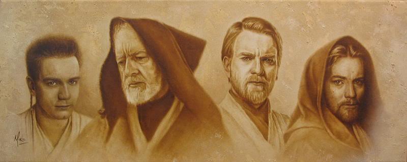 Artwork Star Wars - ACME - Evolution of Obi-Wan Evoobi10
