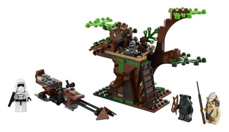 LEGO STAR WARS - 7956 - Ewok Attack Ewokat10