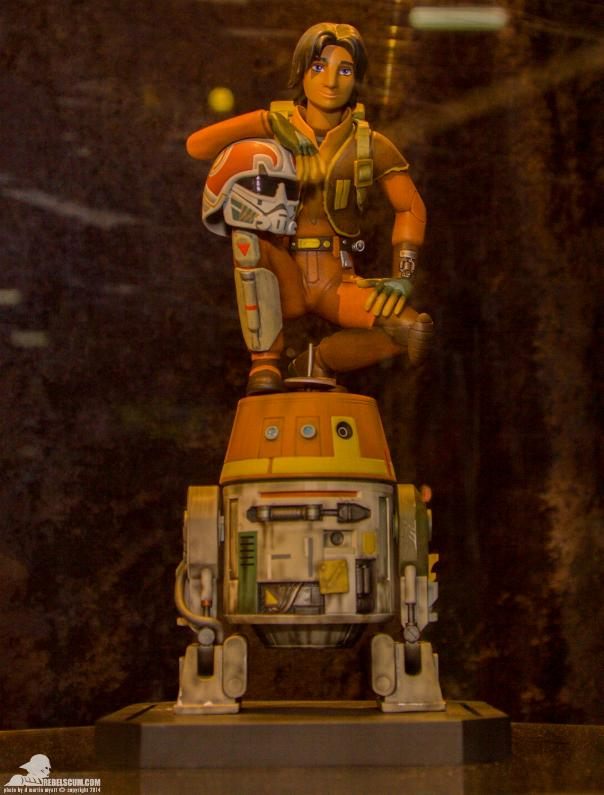Gentle Giant - Ezra and Chopper Maquette Ezra0110