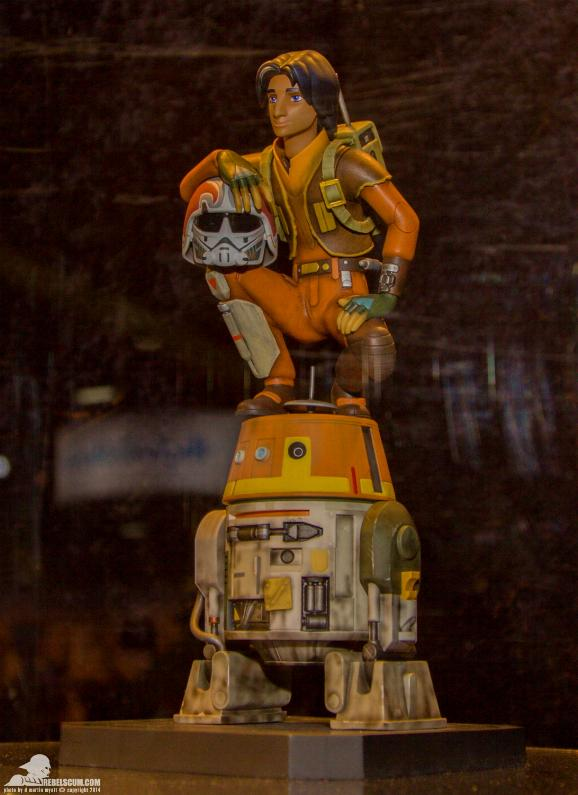 Gentle Giant - Ezra and Chopper Maquette Ezra0210
