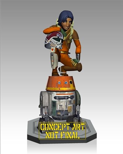 Gentle Giant - Ezra and Chopper Maquette Ezrach10
