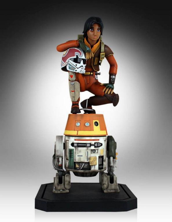 Gentle Giant - Ezra and Chopper Maquette Ezrach12