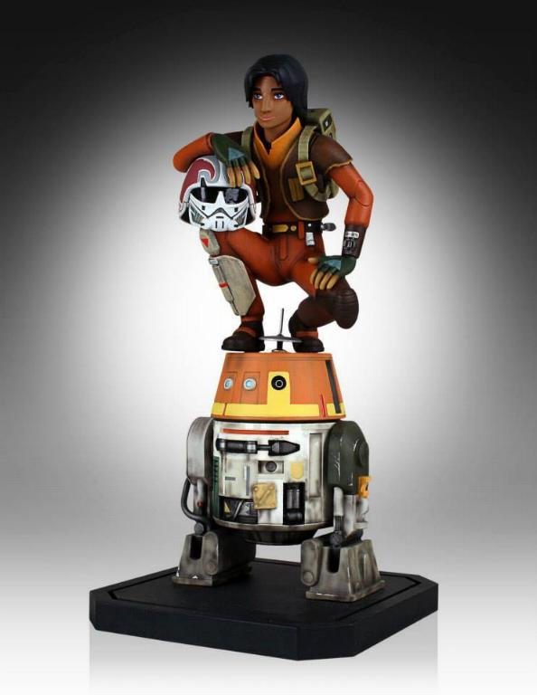Gentle Giant - Ezra and Chopper Maquette Ezrach13