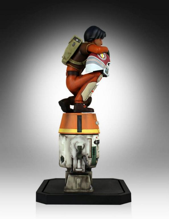 Gentle Giant - Ezra and Chopper Maquette Ezrach16