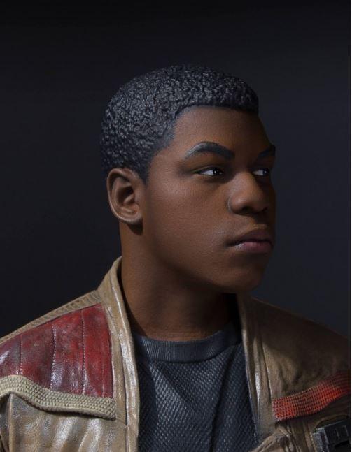 Gentle Giant Star Wars Finn Mini Bust Finn_m17