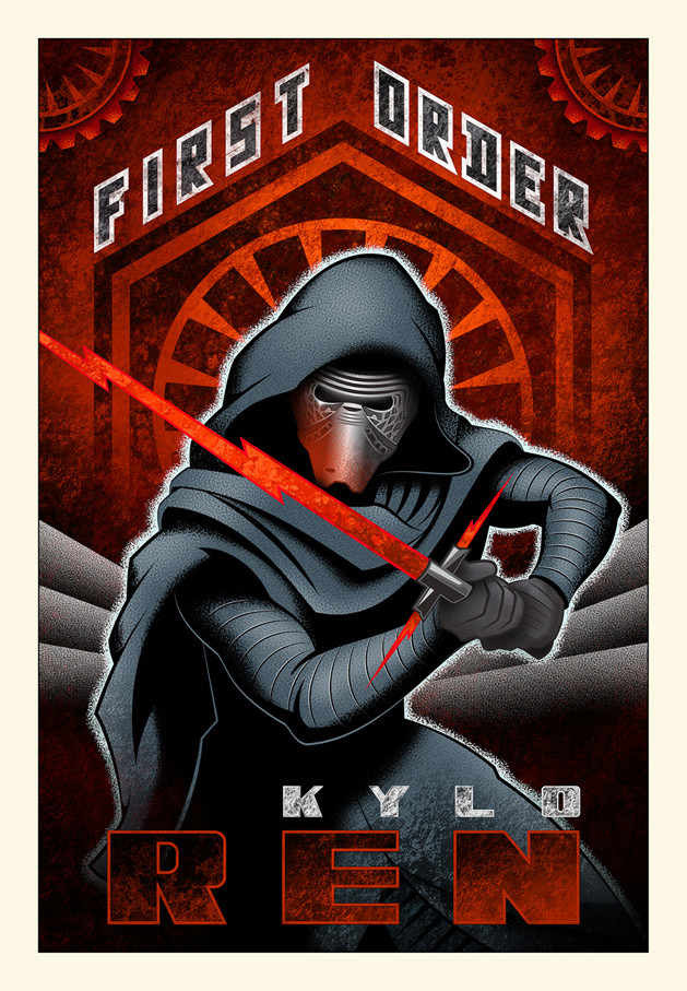 Artwork Star Wars - ACME - First Order Ren First_10