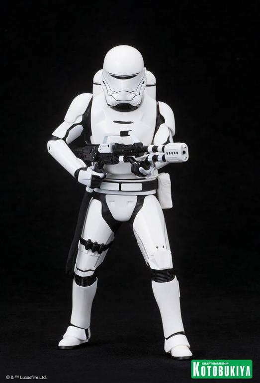 Kotobukiya Star Wars -Snowtrooper Flametrooper ArtFX Statue Flame_11