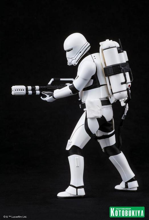 Kotobukiya Star Wars -Snowtrooper Flametrooper ArtFX Statue Flame_12