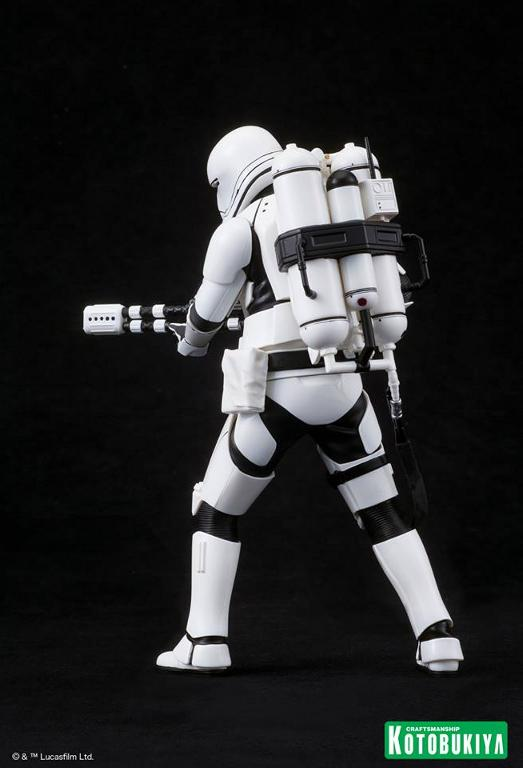 Kotobukiya Star Wars -Snowtrooper Flametrooper ArtFX Statue Flame_13