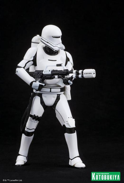 Kotobukiya Star Wars -Snowtrooper Flametrooper ArtFX Statue Flame_14