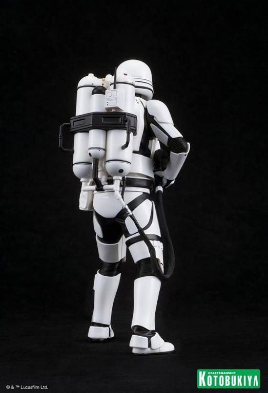Kotobukiya Star Wars -Snowtrooper Flametrooper ArtFX Statue Flame_15