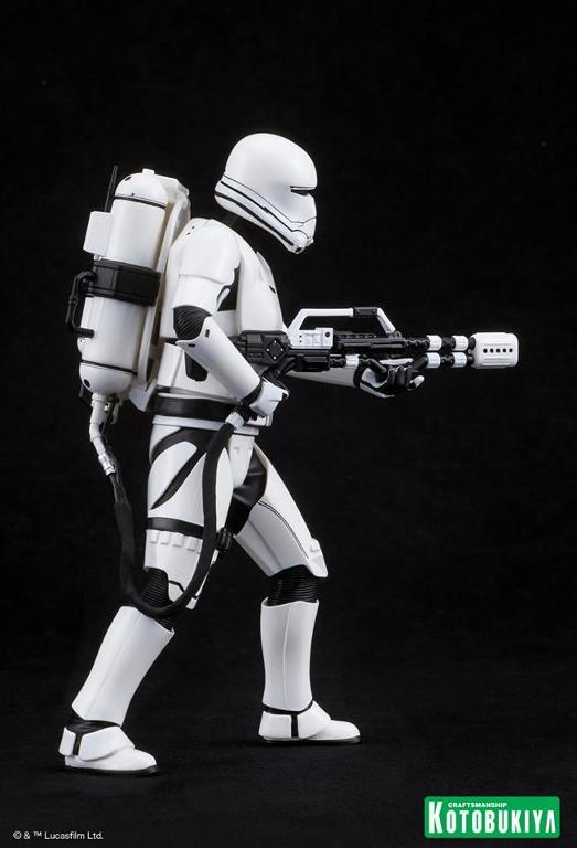 Kotobukiya Star Wars -Snowtrooper Flametrooper ArtFX Statue Flame_16