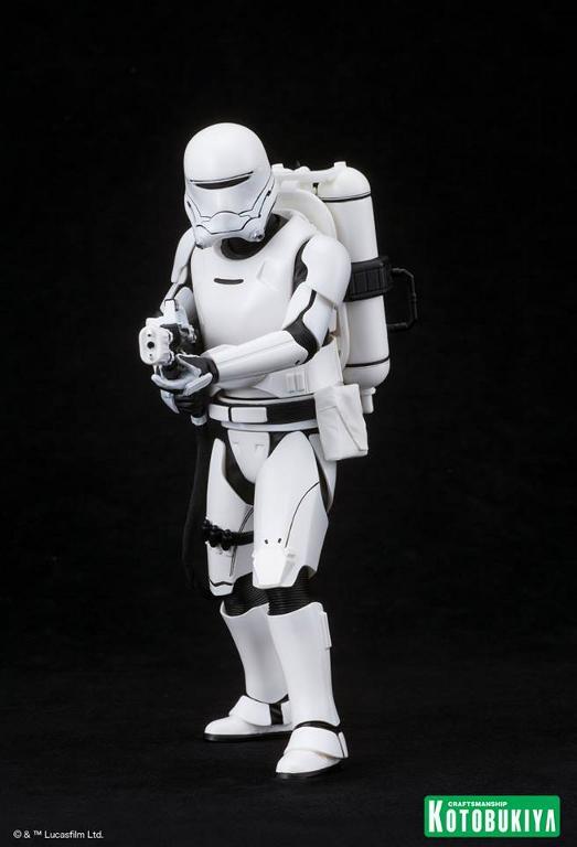 Kotobukiya Star Wars -Snowtrooper Flametrooper ArtFX Statue Flame_17