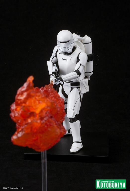 Kotobukiya Star Wars -Snowtrooper Flametrooper ArtFX Statue Flame_19