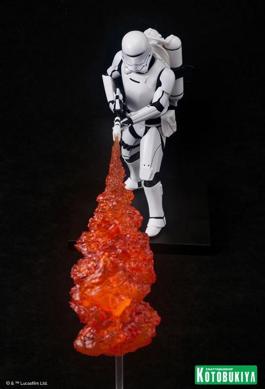 Kotobukiya Star Wars -Snowtrooper Flametrooper ArtFX Statue Flame_20