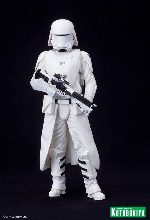 Kotobukiya Star Wars -Snowtrooper Flametrooper ArtFX Statue Flame_21