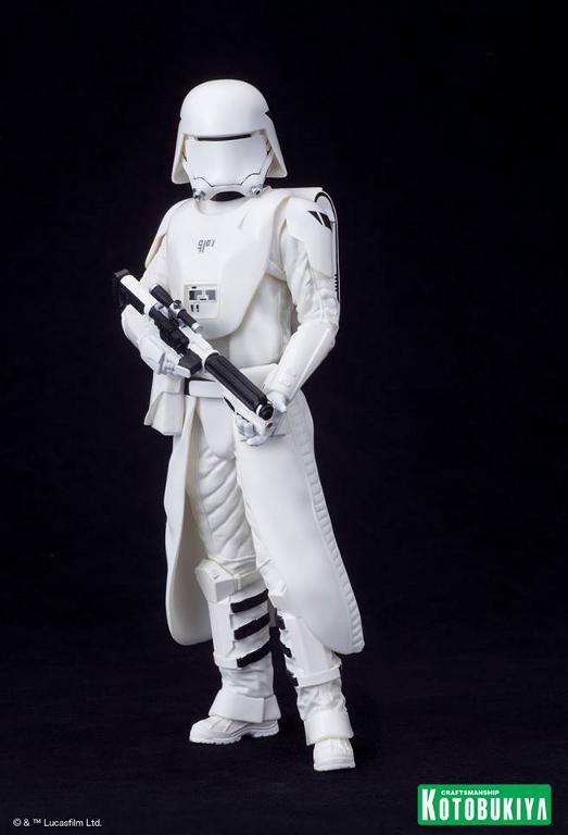 Kotobukiya Star Wars -Snowtrooper Flametrooper ArtFX Statue Flame_22