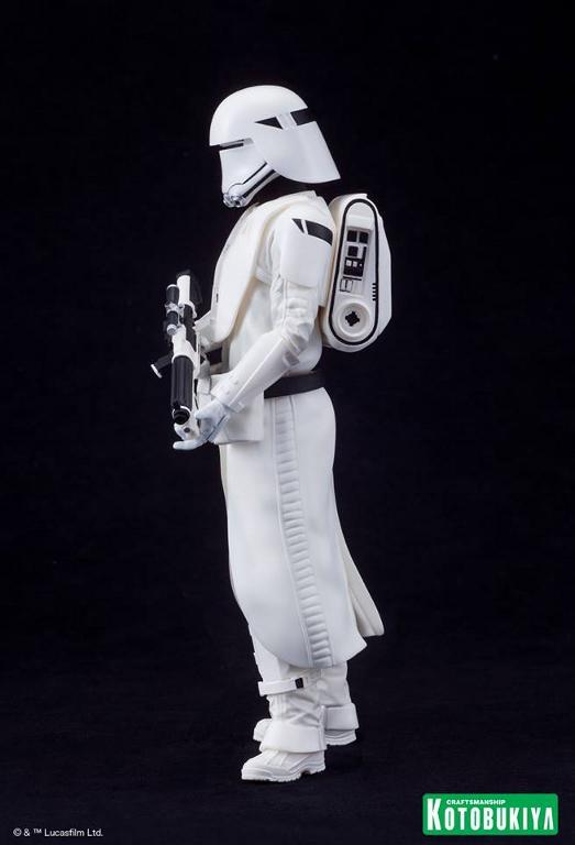Kotobukiya Star Wars -Snowtrooper Flametrooper ArtFX Statue Flame_23