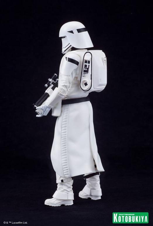 Kotobukiya Star Wars -Snowtrooper Flametrooper ArtFX Statue Flame_24
