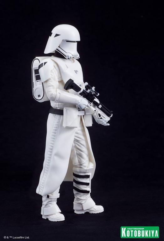 Kotobukiya Star Wars -Snowtrooper Flametrooper ArtFX Statue Flame_27