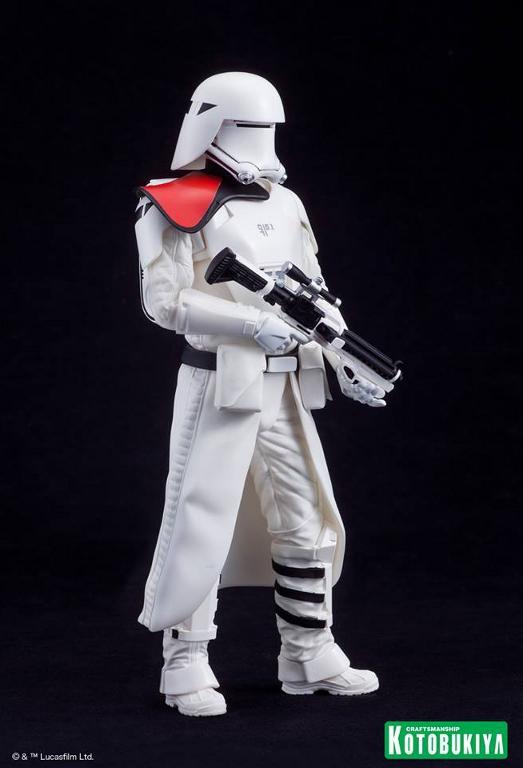 Kotobukiya Star Wars -Snowtrooper Flametrooper ArtFX Statue Flame_28