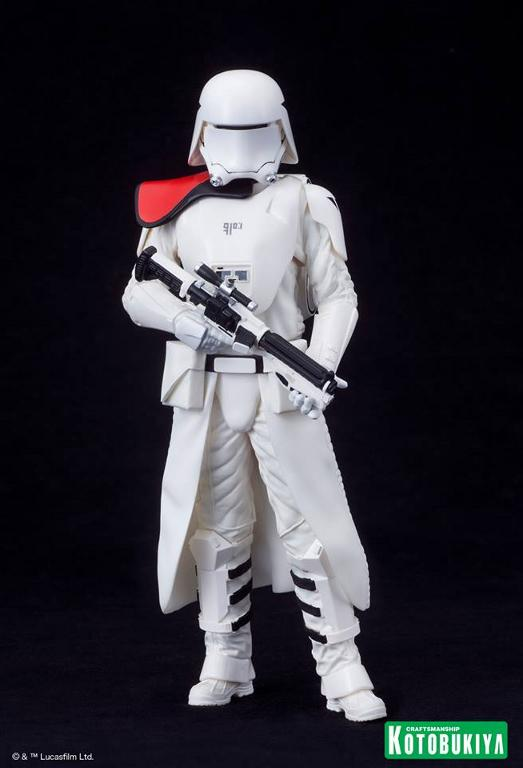 Kotobukiya Star Wars -Snowtrooper Flametrooper ArtFX Statue Flame_29
