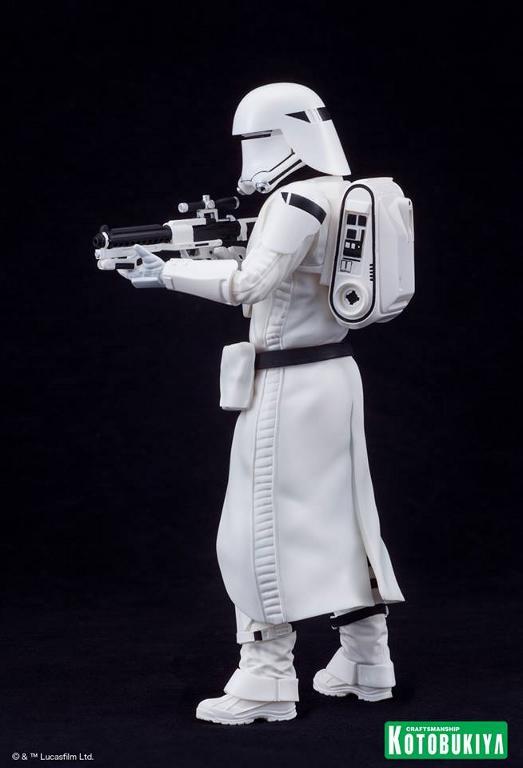 Kotobukiya Star Wars -Snowtrooper Flametrooper ArtFX Statue Flame_30