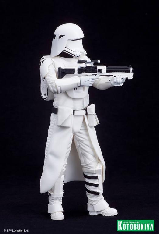 Kotobukiya Star Wars -Snowtrooper Flametrooper ArtFX Statue Flame_31