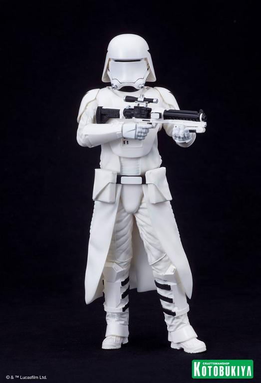 Kotobukiya Star Wars -Snowtrooper Flametrooper ArtFX Statue Flame_32
