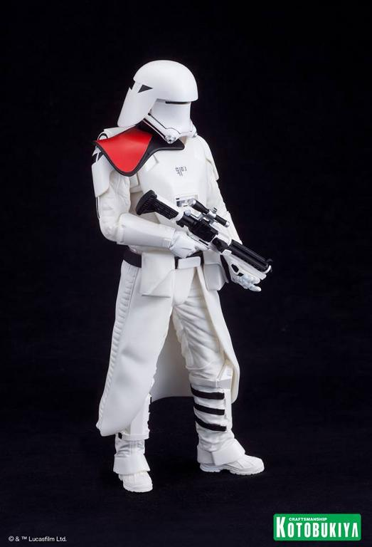 Kotobukiya Star Wars -Snowtrooper Flametrooper ArtFX Statue Flame_33