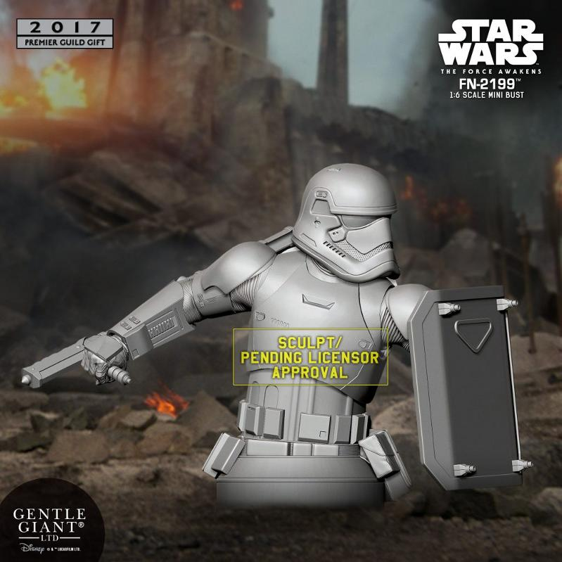 Gentle Giant PGM 2017 - FN-2199 Trooper Star Wars Mini-Bust Fn-21910