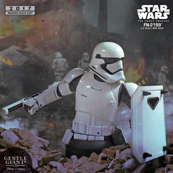 Gentle Giant PGM 2017 - FN-2199 Trooper Star Wars Mini-Bust Fn-21911