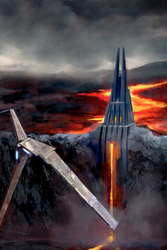 Artwork Star Wars Rogue One - ACME - Fortress of Mustafar Fortre10