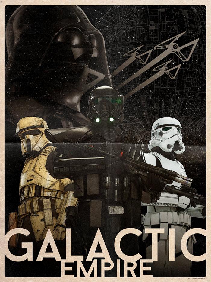 Artwork Star Wars - ACME - Galactic Empire Galact10