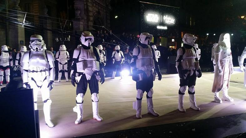 Star Wars envahit les vitrines des Galeries Lafayette  Galeri15