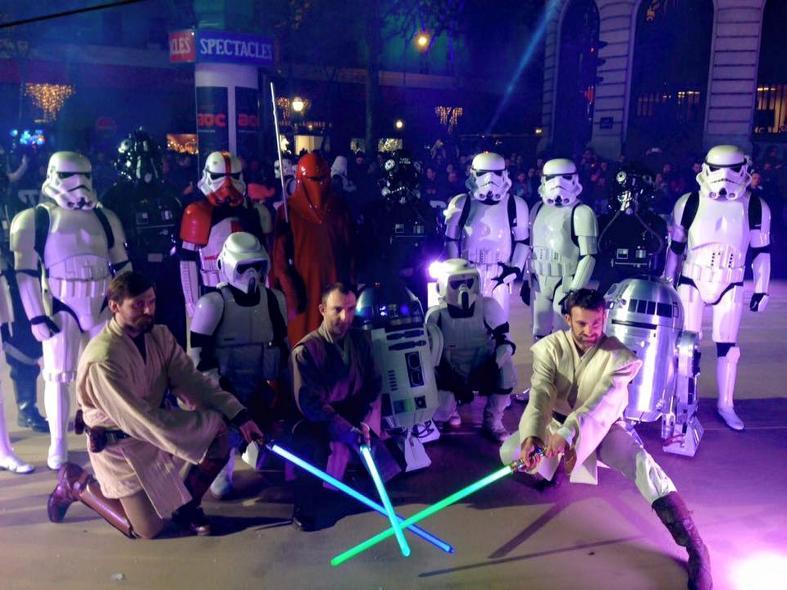 Star Wars envahit les vitrines des Galeries Lafayette  Galeri17