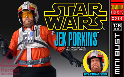 Gentle Giant - SDCC 2014 exclusives - Jek Porkins Mini Bust. Gg_sdc10
