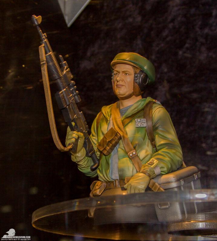 Gentle Giant - Star Wars Endor Trooper Mini Bust Ggendo11