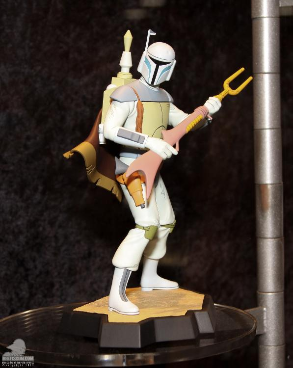 Gentle Giant Holiday Special Animated Boba Fett Maquette  Ggfett14