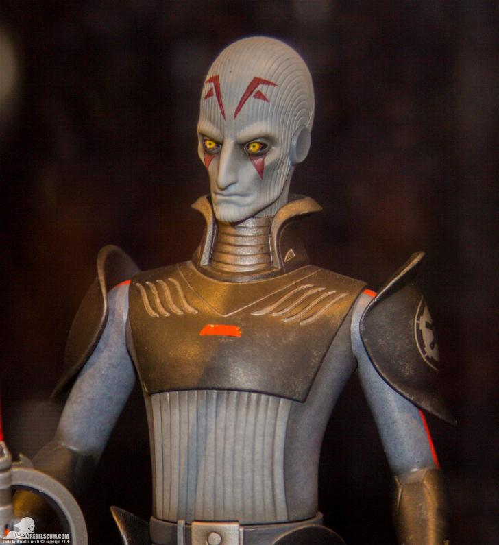 Gentle Giant - Star Wars Inquisitor Delux Maquette PGM Exclu Gginqu12