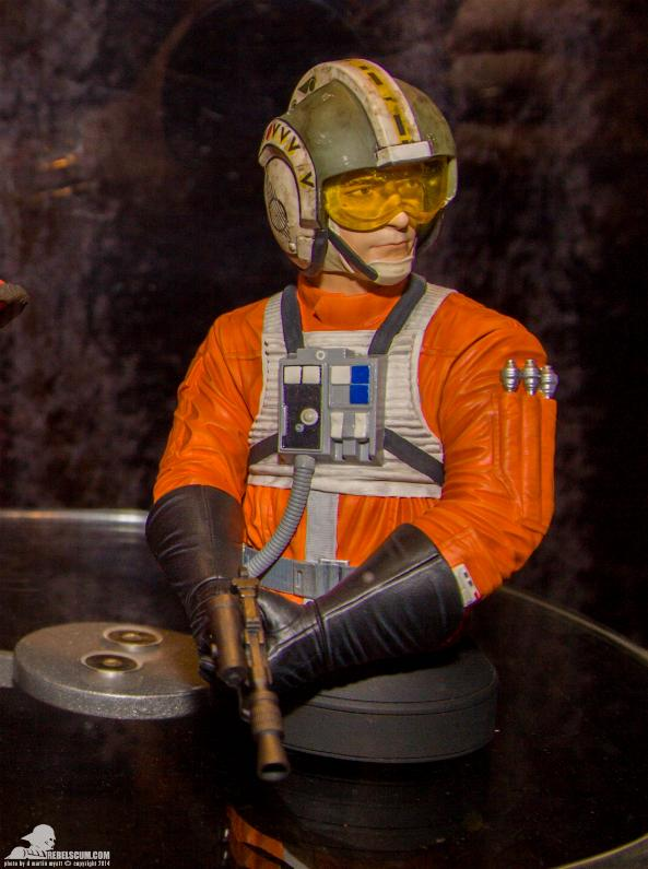 Gentle Giant - Wedge Antilles Mini Bust - PGM Ggwedg10
