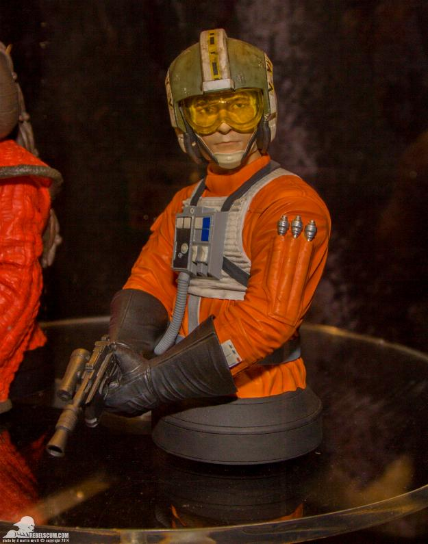 Gentle Giant - Wedge Antilles Mini Bust - PGM Ggwedg11