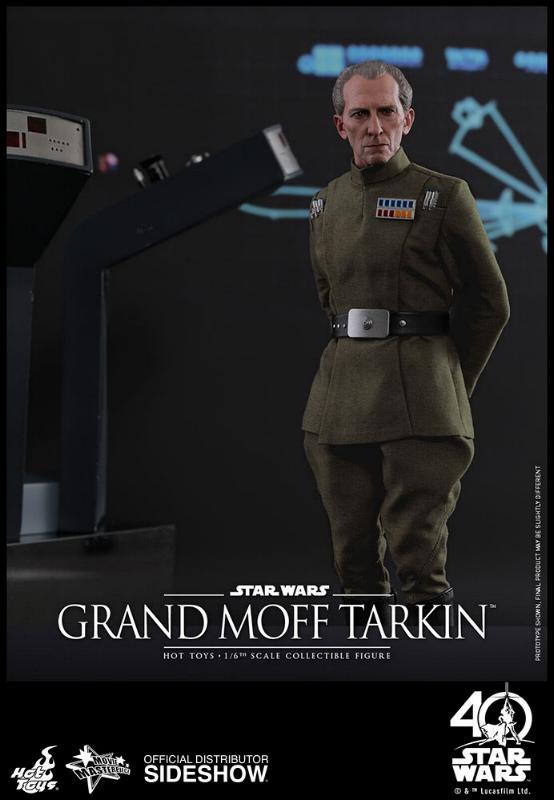 Hot Toys Star Wars - Grand Moff Tarkin Sixth Scale Figure Grand-10