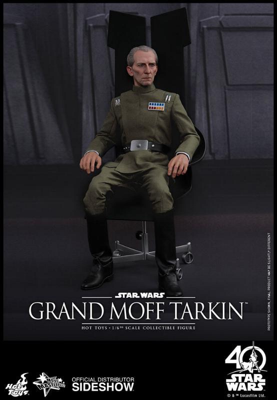 Hot Toys Star Wars - Grand Moff Tarkin Sixth Scale Figure Grand-12