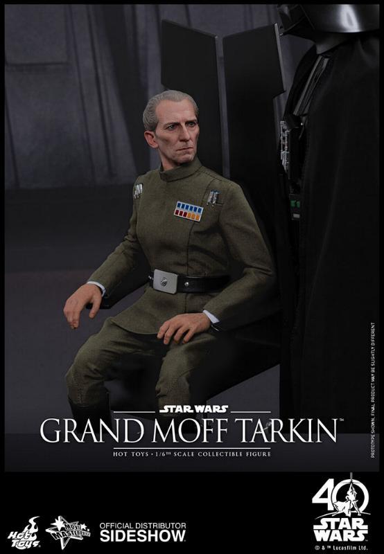 Hot Toys Star Wars - Grand Moff Tarkin Sixth Scale Figure Grand-13